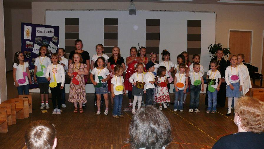 Kinderchor 2011
