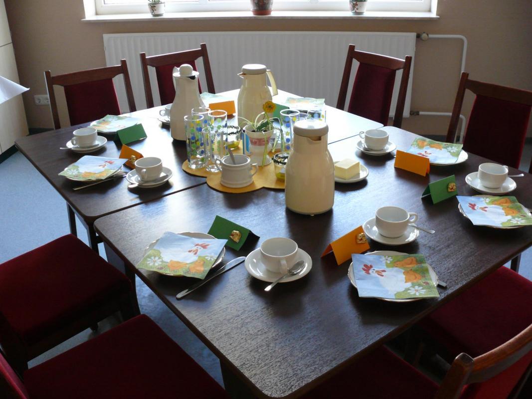 Seniorenfrühstück 2012