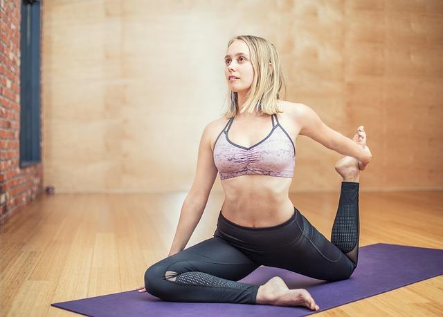 Online Yoga für Frauen