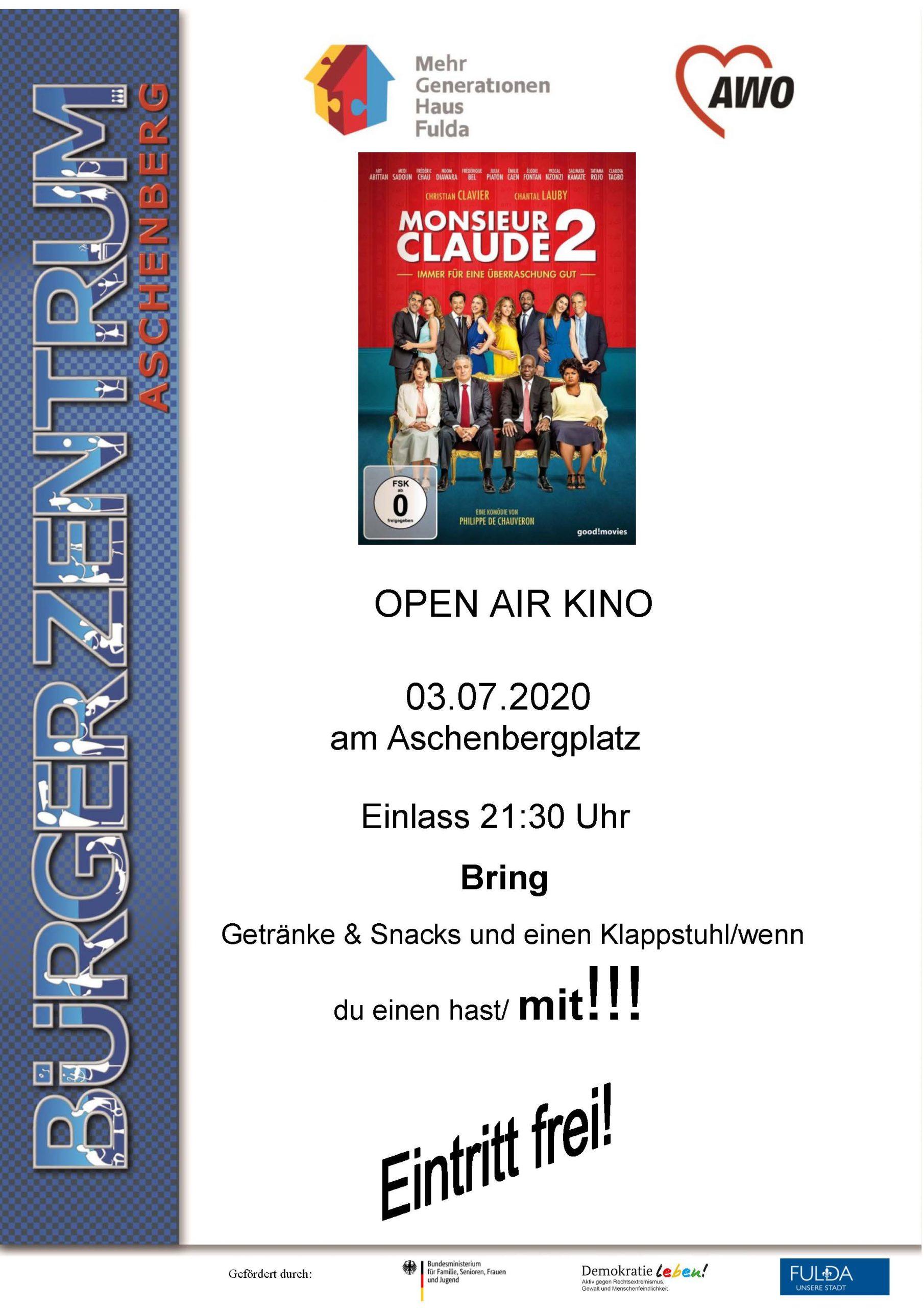 Open Air Plakat